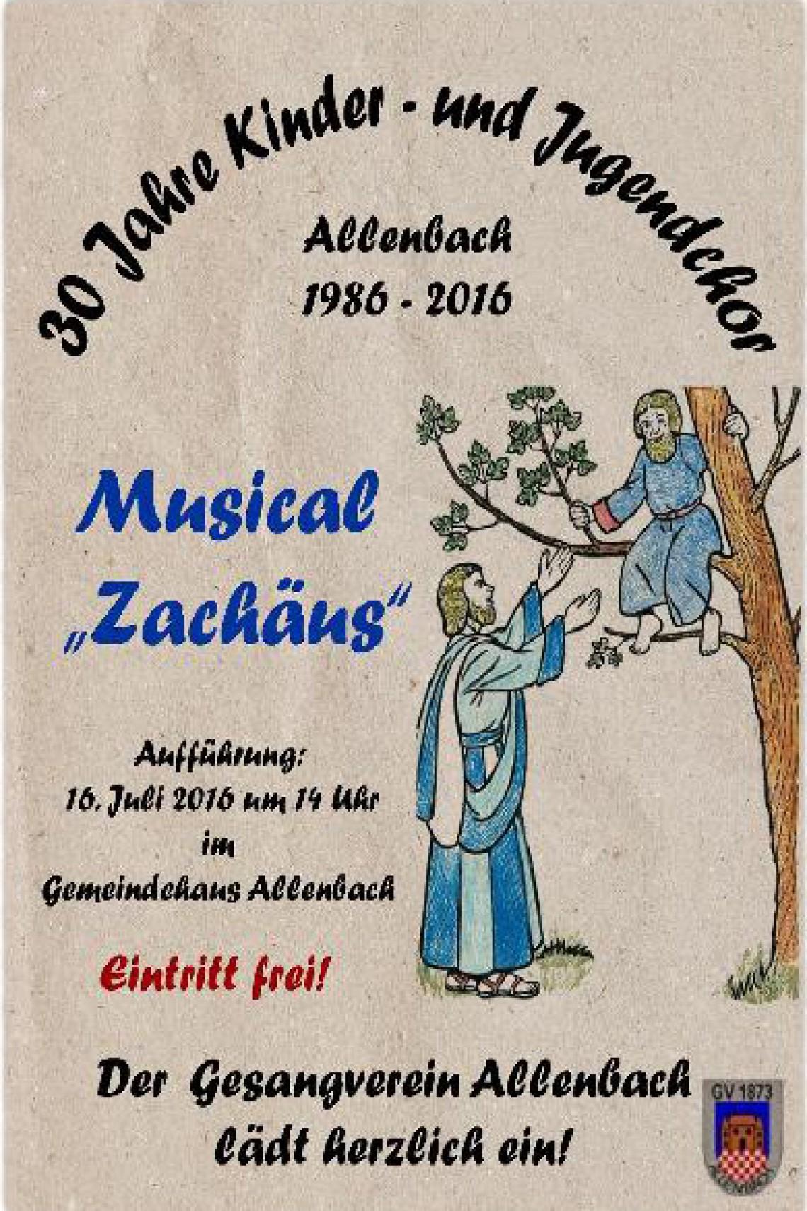 30 Jahre Kinderchor Allenbach
