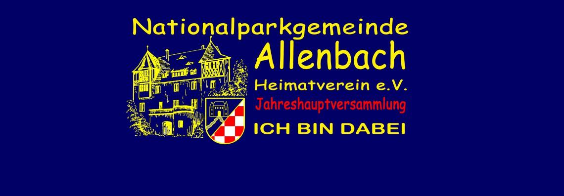 Jahreshauptversammlung Heimatverein e.V. 2019