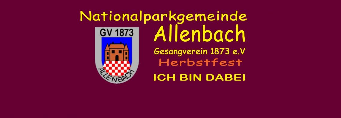 Herbstfest Gesangverein Allenbach
