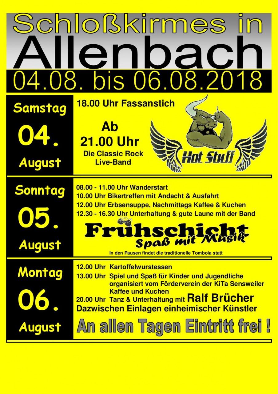 Schlosskirmes 2018 - News