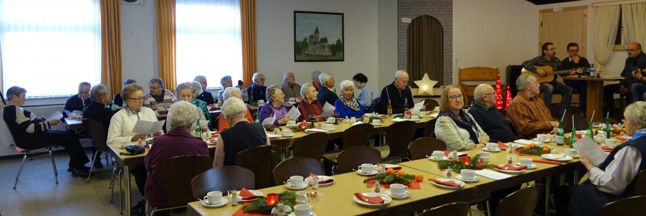 Gelungene Seniorenweihnachtsfeier