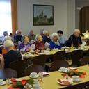 Einige Teilnehmer der Seniorenweihnachtsfeier